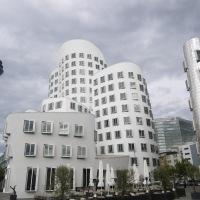 Fantasías arquitectónicas en Düsseldorf