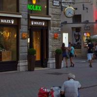 Mendigos en Budapest y la foto que nunca tomé.