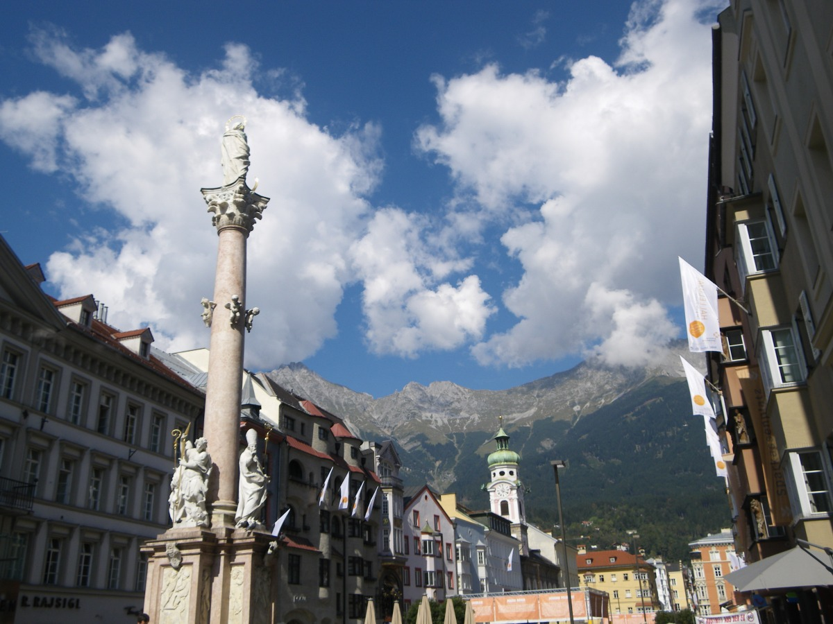 Innsbruck en el Tirol austriaco