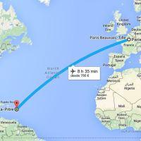 Mi ruta por las Antillas