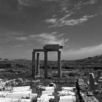 El paisaje en ruinas de Delos