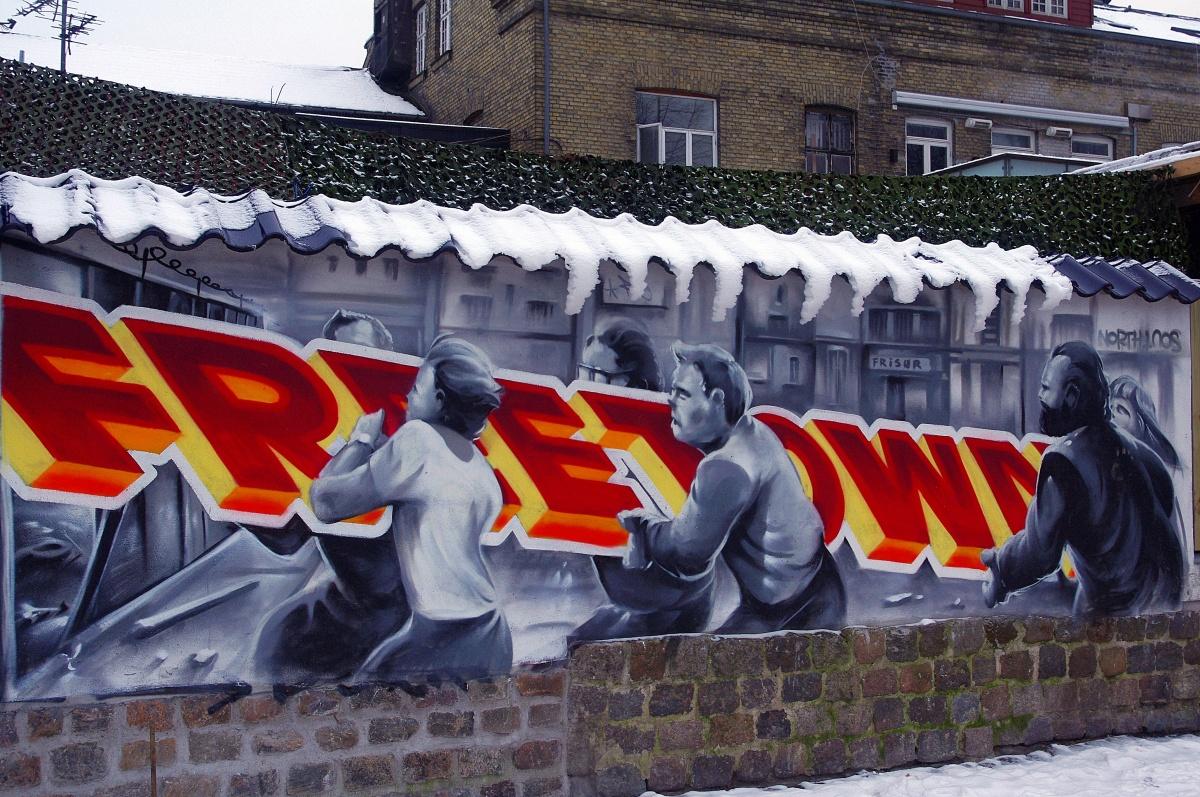 La ciudad libre de Christiania en Copenhague: del autogobierno al capitalismo