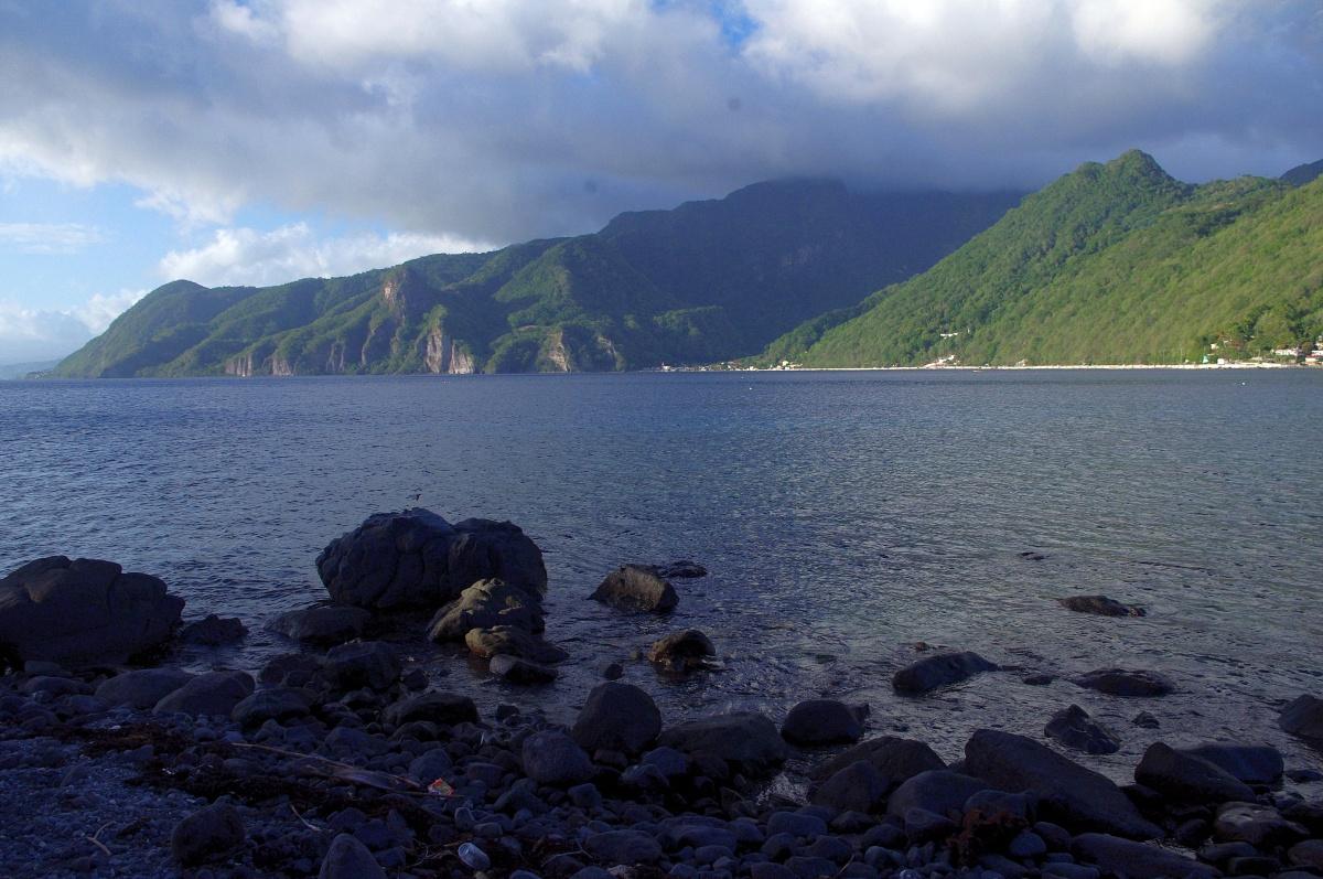 Scott's Head, el tranquilo extremo sur de Dominica