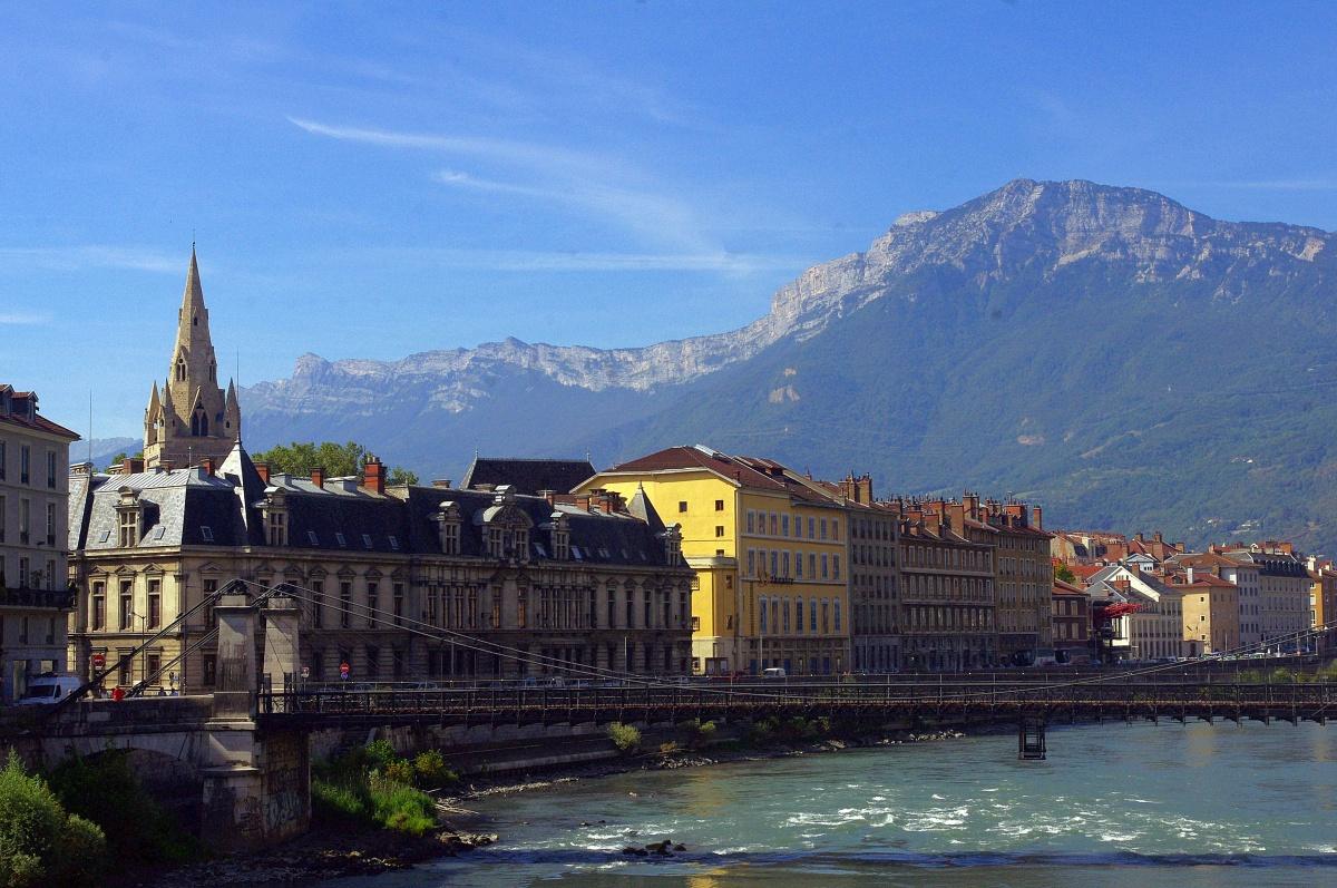 Grenoble, entre las montañas